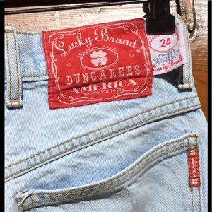 Boho Mom Extremely High True Vintage Lucky Jeans